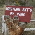 Western skys rv park