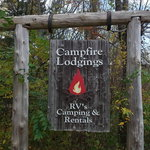 Campfire lodgings