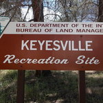 Keysville north recreation site