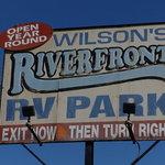 Wilsons riverfront rv park