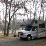 Flaming arrow campground