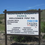 Laguna seca recreation area