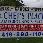 Chets place campground marina