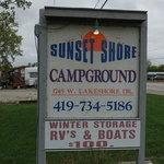 Sunset shore campground