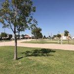 Corral drive in rv park