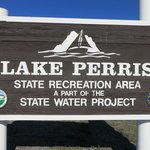 Lake perris state recreation area