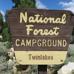 Lower twin lakes campground