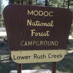Lower rush creek campground