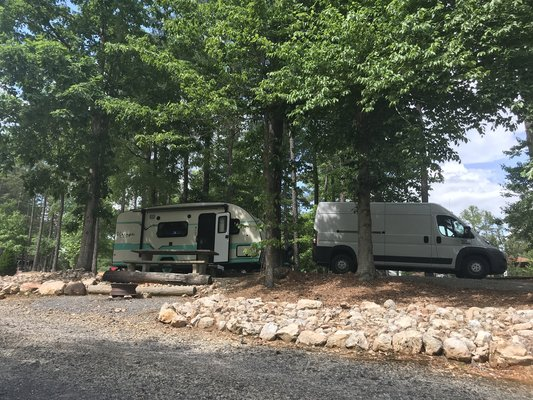 Little cedar creek campground
