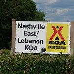 Nashville east lebanon koa