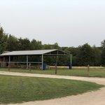 A rv park