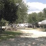 Texas log cabin rv park