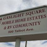 Gaslight square mobile home rv park