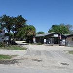 Riverside resort campground