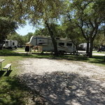 Riverside resort campground