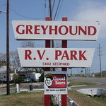 Greyhound rv park