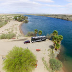 Pirate cove resort moabi regional park