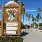 Pirate cove resort moabi regional park