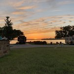 Sunset point on lake lbj rv park