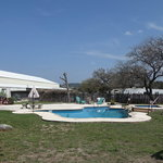 Hill country resort event center