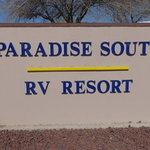 Paradise south rv resort