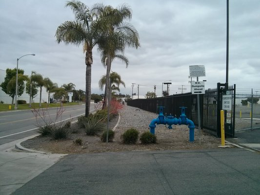 Corona water reclamation facility