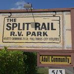 Split rail rv park texas