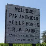 Pan american mobile home rv park