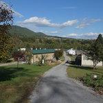Pioneer village campground