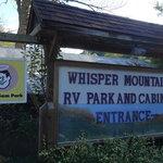 Whisper mountain rv park cabins