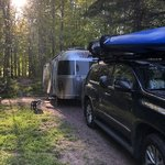 Apostle islands area campground