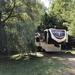 Apostle islands area campground