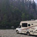 Redwood bar campground