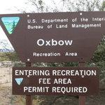Oxbow recreation area