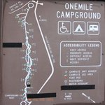 One mile campground