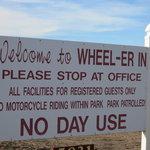 Wheel er in family resort