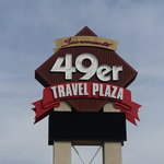 Sacramento 49er travel plaza