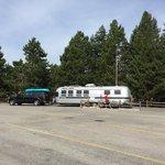 Yellowstone park west entrance koa