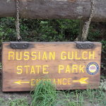 Russian gulch state park
