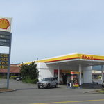 Shell gas station fortuna