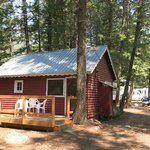 Campfire lodge resort