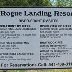 Rogue landing resort