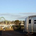 Port of newport dry camping lot