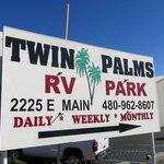 Twin palms rv park mesa az