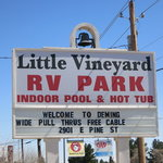 Little vineyard rv park