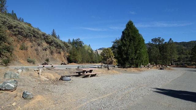 Shasta campground