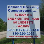 Second crossing camp
