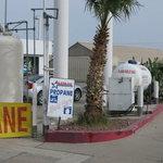 Shell gas station needles ca