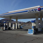 Arco am pm gas station baker ca