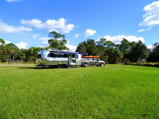 Dupuis reserve campground